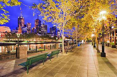 Australia-Melbourne-Southbank and Arts Center