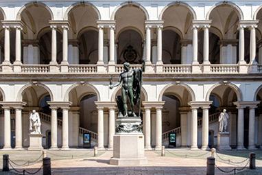 Italy-Milan-Πινακοθήκη Μπρέρα