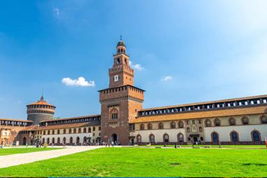 Italy-Milan-Castello Sforzesco