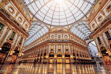 Italy-Milan-Galleria Vittorio Emmanuelle II