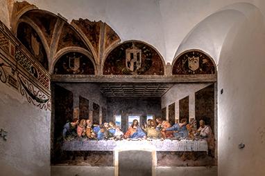 Italy-Milan-Santa Maria delle Grazie
