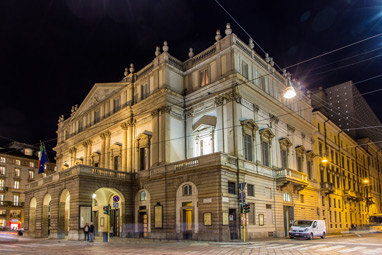 Italy-Milan-Teatro alla Scala