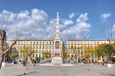 Spain-Malaga-Plaza de la Merced