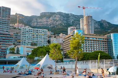 Monaco - Larvotto beach