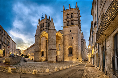 France-Mont pellier-Montpellier Cathedral