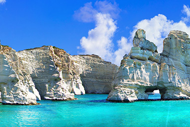Cyclades -Μήλος - Παραλία Κλέφτικο