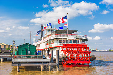 United States-New Orleans-New Orleans Steamboat