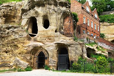 United Kingdom-Nottingham-Η πόλη των σπηλαίων - City of Caves