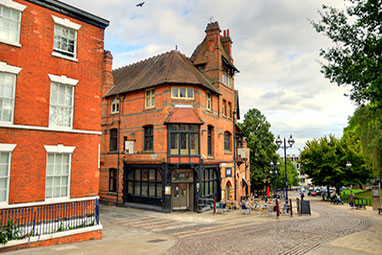 United Kingdom-Nottingham-The Lace Market