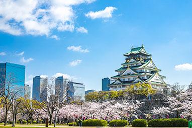 Japan-Osaka-Το κάστρο της Οσάκα