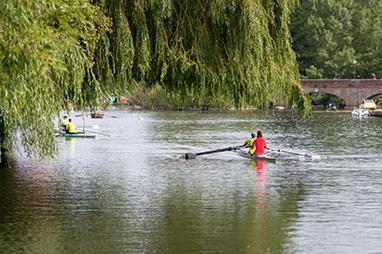 England - Oxford - Boating