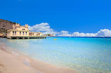 Italy-Palermo-Παραλία Mondello
