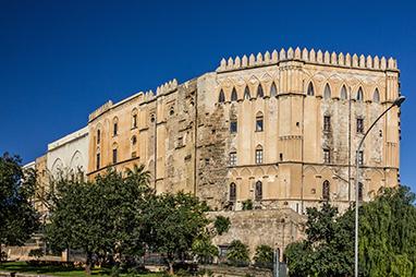 Italy-Palermo-Palazzo dei Normanni