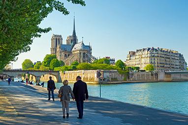 France - Paris - Île de la Cité