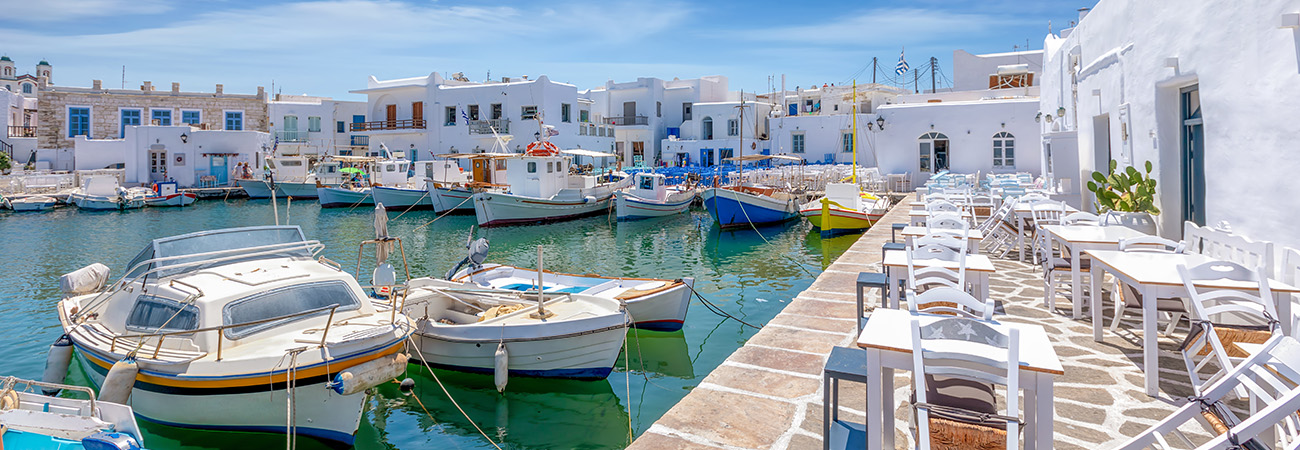 Visit the Cycladic jewels