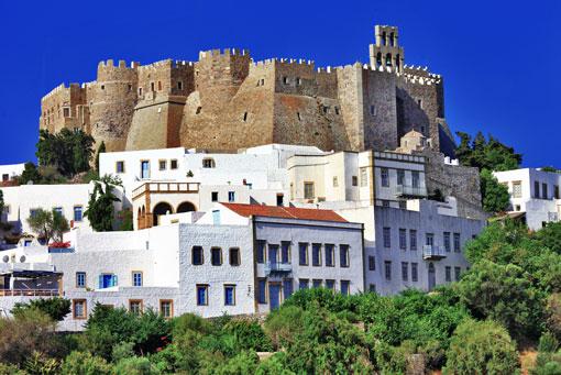 Dodecanese - Patmos - The Monastery of Saint John