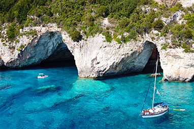 Ionian - Paxi - Blue Caves