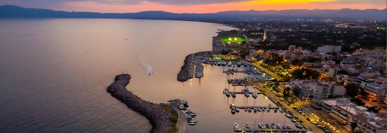 West coast Peloponnese tour