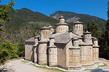 Thessaly-Pertouli-Ιερά Μονή Τιμίου Σταυρού στα Δολιανά