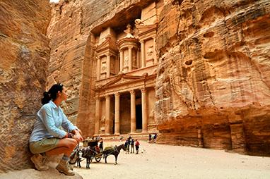 Jordan-Petra-Al Khazneh