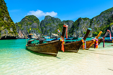Thailand-Phi Phi Islands-Maya Bay