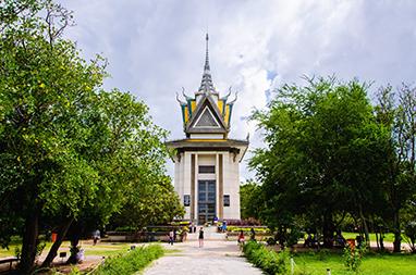 Cambodia-Phnom Penh-Choeung Ek