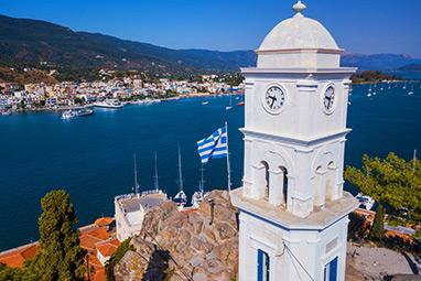 Saronic Islands - Poros - The towns Clock
