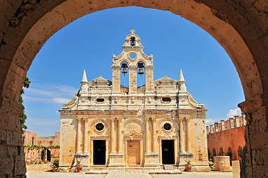 Crete - Rethymnon - Monastery of Arkadi
