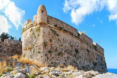 Crete - Rethymnon - Fortezza Castle