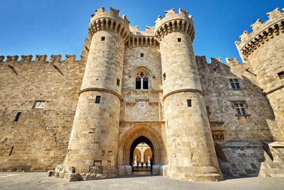 Dodecanese - Rhodes - The palace of the Grand Master
