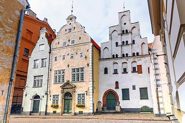 Latvia-Riga-Three brothers