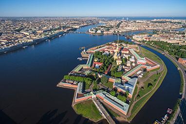 Russia-Saint Petersburg-Φρούριο Πέτρου και Παύλου