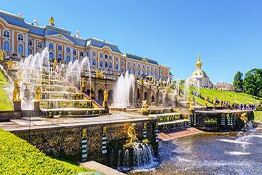 Russia-Saint Petersburg-Ανάκτορο Πέτερχοφ
