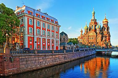Russia-Saint Petersburg-Η Εκκλησία του Σωτήρα του Αιμοραγούντα