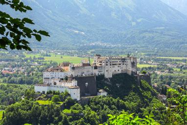 Austria-Salzburg-Hohensalzburg Fortress
