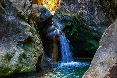 North Aegean Islands - Samos - Potami waterfalls