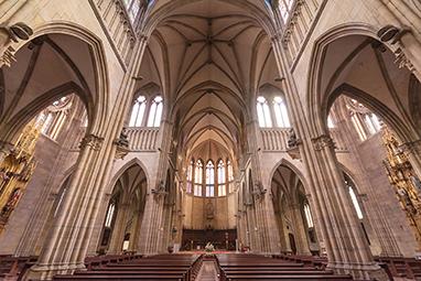 Spain-San Sebastian-Good Shepherd of San Sebastián Cathedral
