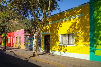 Chile-Santiago-Barrio Bellavista