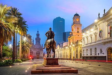 Chile-Santiago-Plaza de Armas