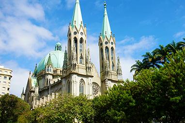 Brazil-Sao Paulo-São Paulo Cathedral
