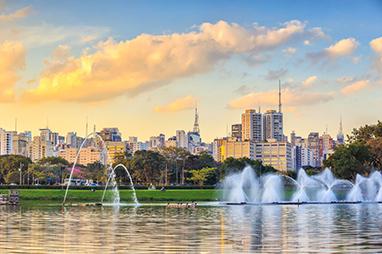 Brazil-Sao Paulo-Ibirapuera Park
