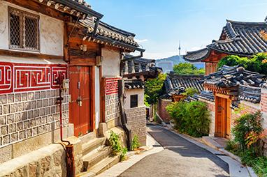 South Korea - Seoul - Bukchon Hanok Village