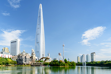 South Korea - Seoul - Lotte World Tower