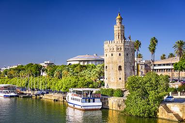 Spain-Seville-Torre del Oro