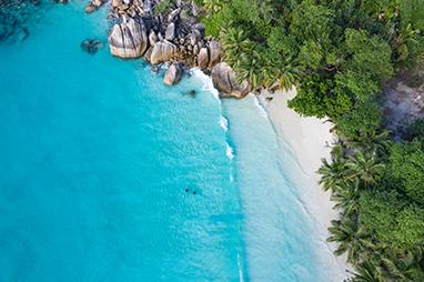 Indian Ocean-Seychelles-Anse Lazio