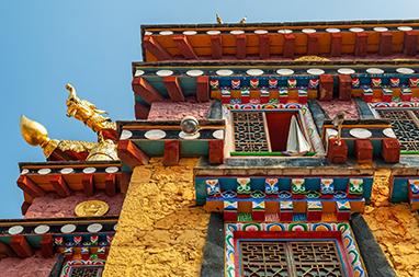 Tibet-Shangri-La-Ganden Sumtseling Monastery