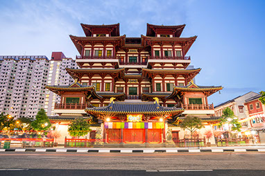 Singapore-Buddha Tooth Relic Temple