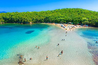 Epirus-Syvota-Παραλία Μπέλλα Βράκα