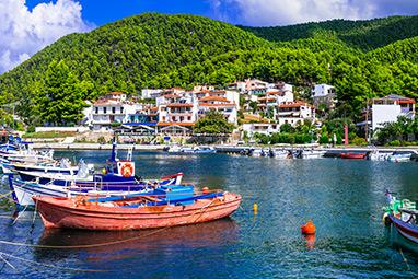 Sporades - Skopelos - Villages
