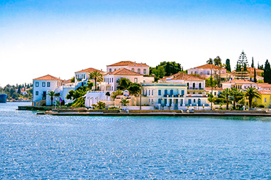 Saronic Islands - Spetses - Walk in Dapia